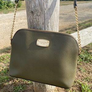 Authentic Michael Kors Cindy Dome crossbody bag